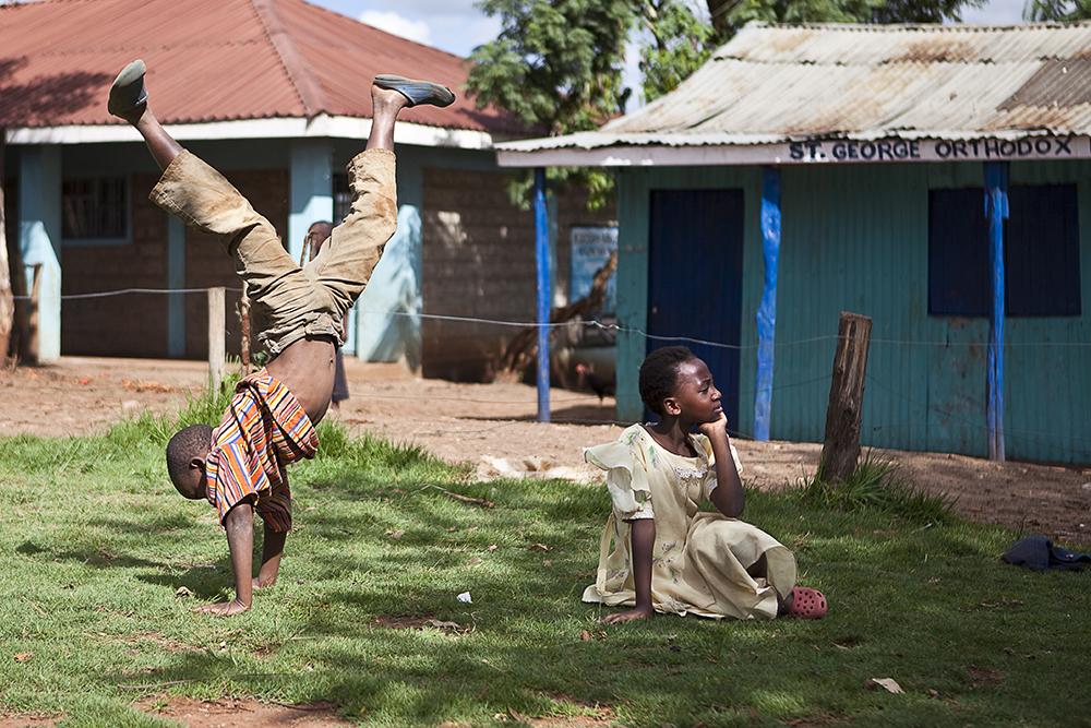 Nairobi - Part2 - Kibera Kids 5
