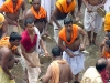 Brahmin musicians praising Lord Jagannath