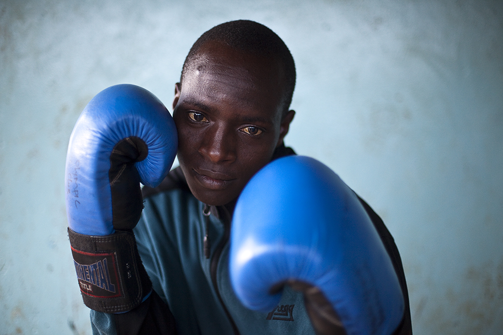 Kibera Olympic Boxing Team-©Uchujin-Adrian Storey. All Rights reserved.