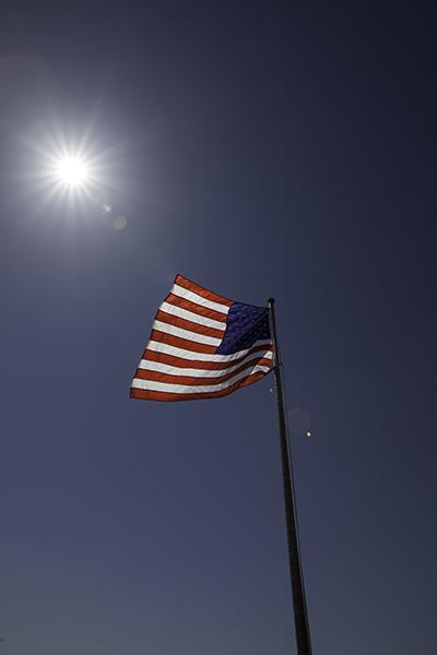 American flag ©Uchujin-AdrianStorey