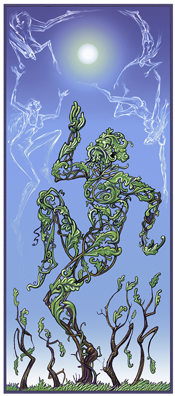 Green Man Dance © John Storey