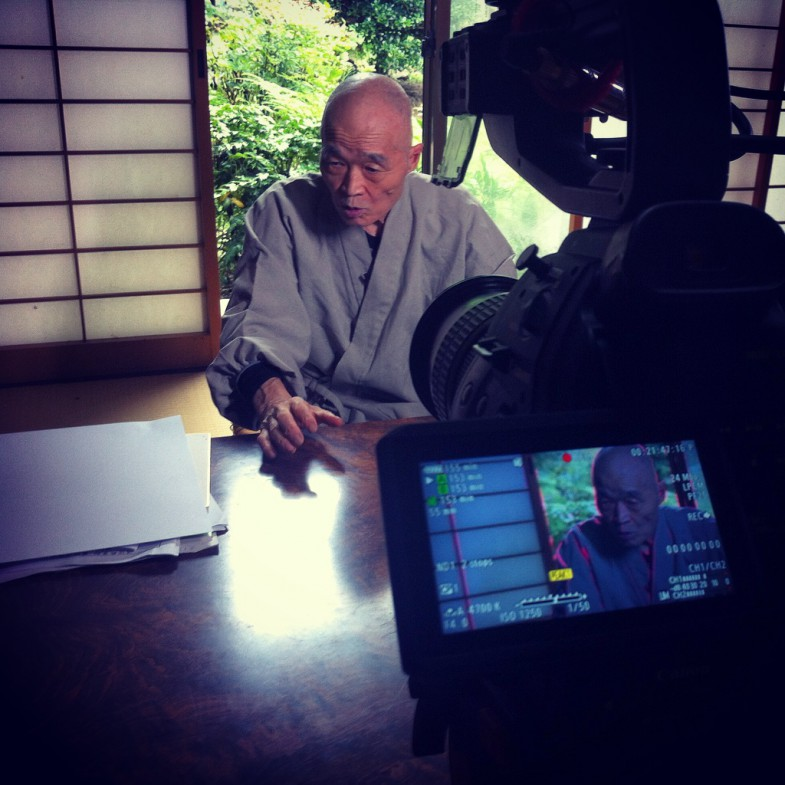 Shinzan Roshi 2015-08-31 ©Uchujin-Adrian Storey. All Rights reserved.