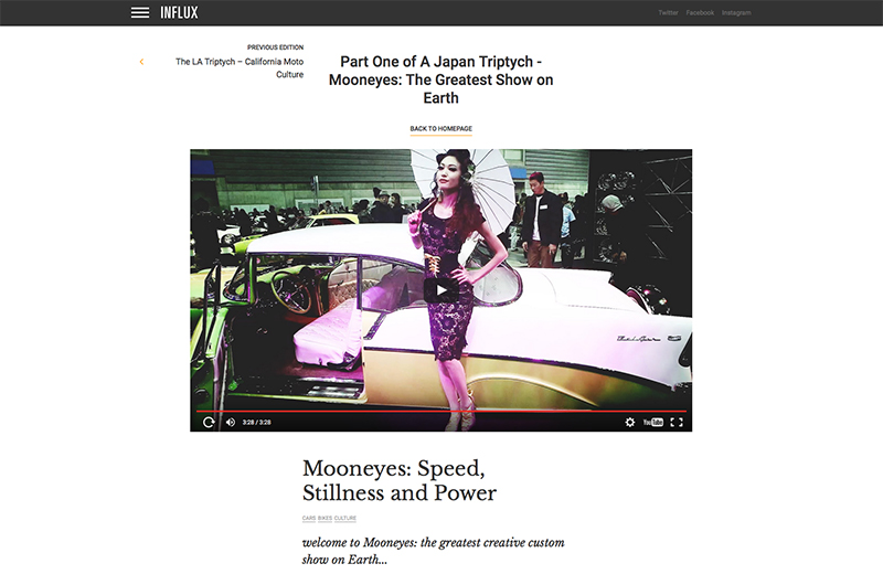 Part One of A Japan Triptych - Mooneyes: The Greatest Show on Earth