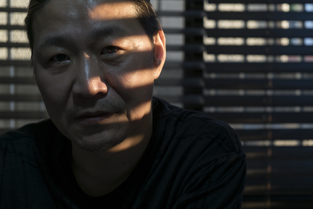 Koji Kakinuma - Calligrapher ©Uchujin-AdrianStorey2016