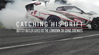Catching His Drift - Buttsy Butler on influx.co.uk