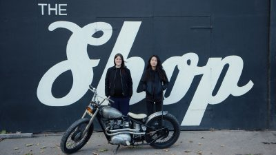 VC London - All female custom motorbike co-operative for INFLUX