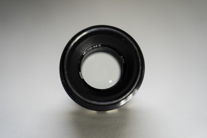 Helios 44-2 58mm F2 -frontview -©Uchujin-AdrianStorey-040619