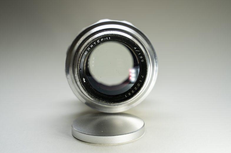 Jupiter 11 135mm F4-frontview-©Uchujin-AdrianStorey-040619