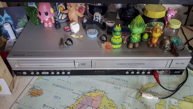 The magnificent Philips DVP 3055V DVD/VCR Player